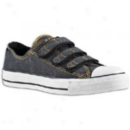 Converse Men's As 3 Strap Stonewashed Canvas