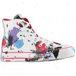 Converse Men's (pdt) Red As Hi 100 Multisplatterz