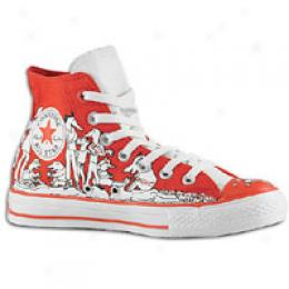 Converse Me's (Result) Red As Hi 100 Cany Peepz