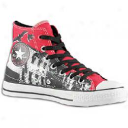 Converse Men's (product) Red As Hi 100 Ny Scapez