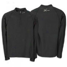 Cw-x Men's Insulator Zip Long Sleeve Tee