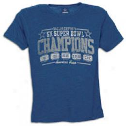 Dcm Men's Cowboys 5 Time Champs Retro Tee