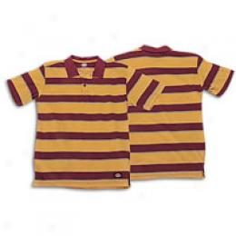 Dickies Big Kids Striped Jersey Polo