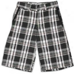 Dickies Little Kids Plaid Caargo Short