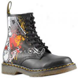 Dr. Martens Women's Half Skull 8 Eye Boot
