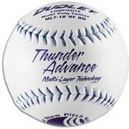 Dudley Mlt-12 Rf80 Composite Slowpitch Softballs