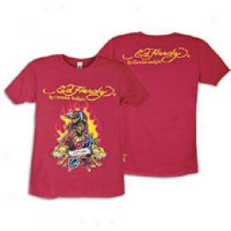 Ed Hardy Eagle And Flower S/s Tee - Men's