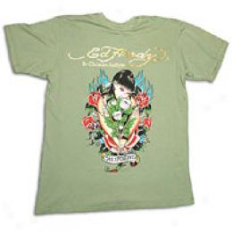 Ed Hardy Men's California Bouquet Tee