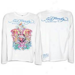 Ed Hardy Men's Love Kills Slowly L/s Tee