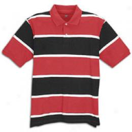 Foot Locker Men's Stripe Piqus Polo