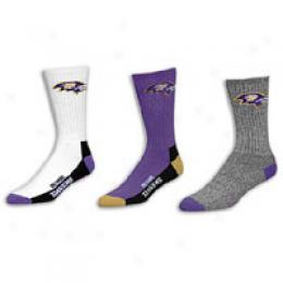 For Bare Feet Men's Nfl Assorted Men's Socks - Siz