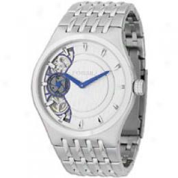 Fossil Men's Silver Twist Watch