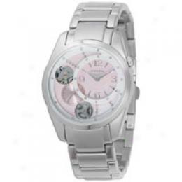 Fossil Women's Women's Mechanical Twist Dial Watch