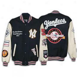 G-iii Men's Mlb Cooperstown Letterman Jacket