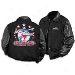 G-iii Men's Mlb Ws Champs Wool/leather Jacket