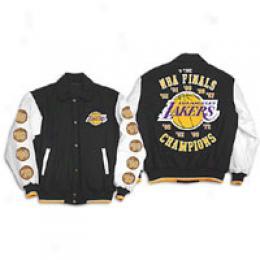 G-iii Men's Nba Champions Wool/leather Jacket