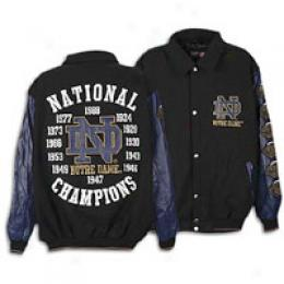 G -iii Men's Wool And Leather Championship Jacket