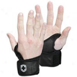 Harbinger Stain &dri Lthr Wrist Wrap