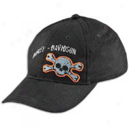 Harley Davodson Big Kids Skull Ballcap