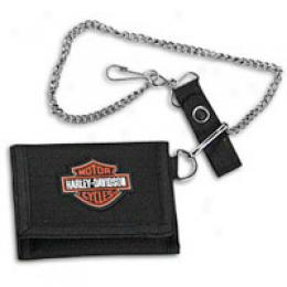 Harley Davidson Fashion Wallet With Chain