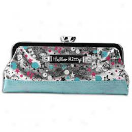 Hello Kitty Women's Printed Kiss Lock Coin Bag