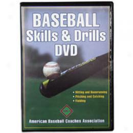 Human Kinetics Baseball Skills & Drills Dvd