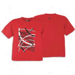 Jordan Big Kids Through The Wire Tee