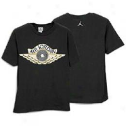 Jordan Big Kids Wings Of Sole Tee