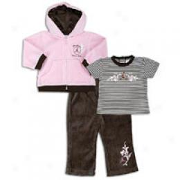 Jordan Infants Aj 23 Plush Velour Set