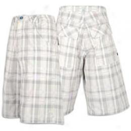 Jordan Ls 23 Printed Plaid Short - Men's