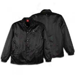 Jordan Ls Coaches Flight Jacket - Men's