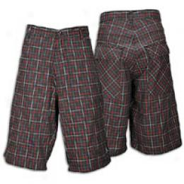 Jorran Ls Yarn-dye Woven Short - Men's