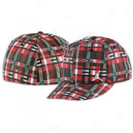 Jordan Men's Big Plaid Fitted Cap