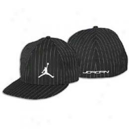Jordan Men's Wool Pinstripe Fitted Cap