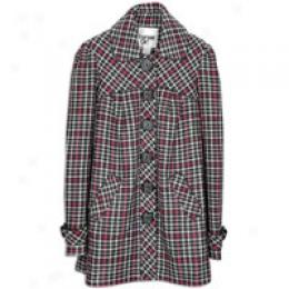 Kensie Girl Women's Multi Color Houndstooth Coat