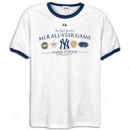 Majestic Men's All-star Game History Ringer Tee