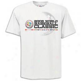 Majestic Men's World Baseball Logo Tee