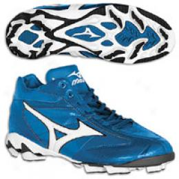 Mizuno Big Kids 9 Spike Youth Franchise Mid G4