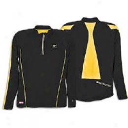 Mizuno Men's Breath Thermo 1/2 Zip Mock