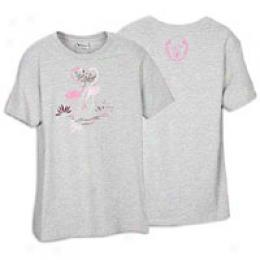 New Balance Women's Lftc Lu Pink Flamingo Tee