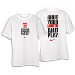Nike Big Kids Shut It Short-sleeve Tee