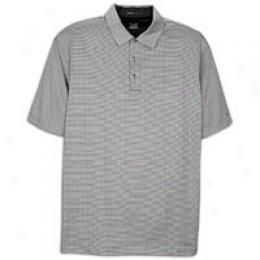 Nike Golf Men's Tw Dri-fit Mini Stripe Polo