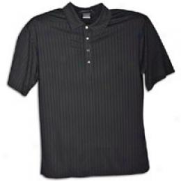 Nike Golf Men's Tw Dri-fit Matte Sheen Stripe Polo