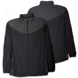 Nike Golf Men's Windproof Convertible Fz Jacket