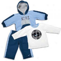 Nike Infants 3 Piece Fleece Hoody Set