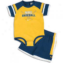 Nike Infants Bwseball Bodysuite Set
