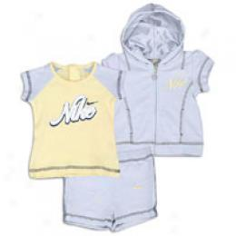 Nike Infants Hoody Short Set