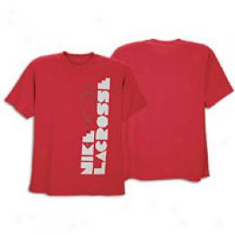 Nkke Men's 80'ss Lax Stick Tee