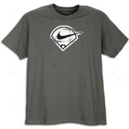 Nike Men's Baseball Diamond Logo Tee