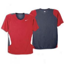 Nike Men's Baseball Training Compendious Sleeve Crew